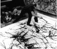 Jackson Pollock at work, by Hans Namuth, 1950 National Portrait Gallery, Smithsonian Institution, Washington, D.C.